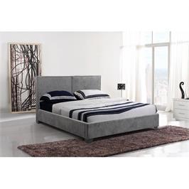 מיטה זוגית מרופדת בד מבית GAROX דגם RACHEL