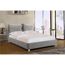 מיטה זוגית מדהימה ביופיה מרופדת בד מבית GAROX דגם AMANDA