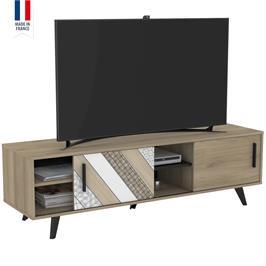 סט מזנון ושולחן בגימור מודרני תוצרת צרפת HOME DECOR דגם הלסינקי
