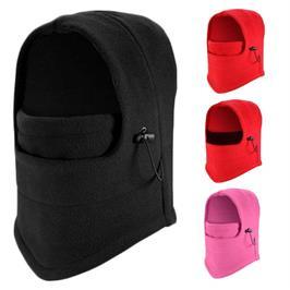 כובע פליז רב תכליתי משולב חם צוואר דגם ווינד בלוק  Wind Block