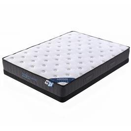 מזרן קשיח עם קפיצים מבודדים למיטת נוער רחבה AMBASSADOR דגם AROMA