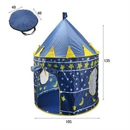 אוהל משחקים אבירים/נסיכות לבנים ובנות מעוצב ב 2 סגנונות
