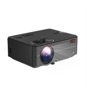 """מקרן לד LUMENS 2000  להקרנה על קיר עד """"120 דגם PC-200"""