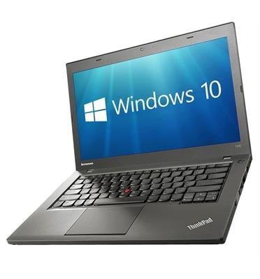 """מחשב נייד 14"""" 4GB דיסק קשיח 240SSD מעבד INTEL Core i5-4300 מבית Lenovo דגם T440 THINKPAD מחודש"""