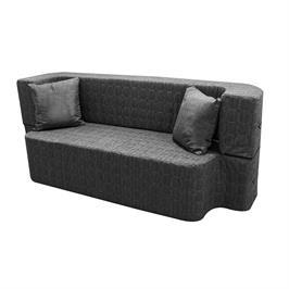 ספה תלת מושבית עשויה ספוג נפתחת למיטה מבית BRADEX דגם SAPATA