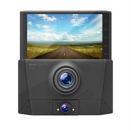 מצלמת דרך לרכב עם 3 עדשות צילום דגם DVR-43