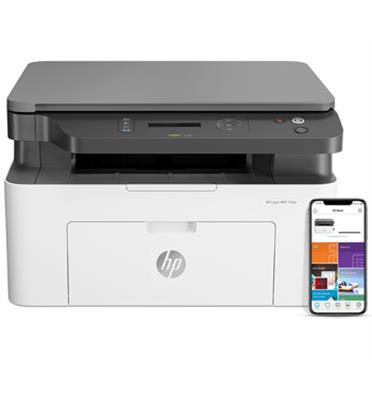 מדפסת משובלת לייזר רב תכליתית תוצרת HP דגם HP Laser MFP 137fnw
