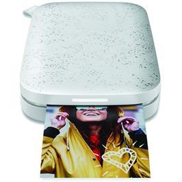 מדפסת תמונות תוך שניות, בכל מקום שתהיה מבית HP דגם Sprocket photo printer לבן