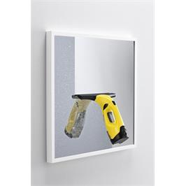 מנקה חלונות נטען דופן עם סוללת ליתיום יון עוצמתית לעבודה של כ 35 דקות ללא הפסקה, מבית KARCHER דגם WV 6