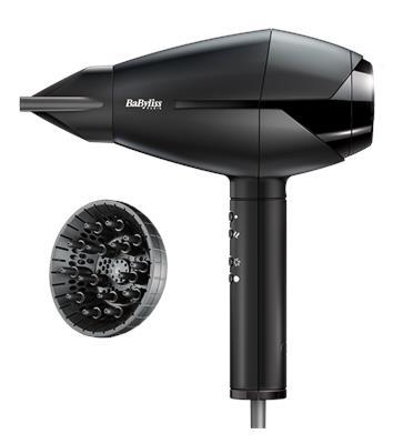 מייבש שיער הספק 2300 וואט מקצועי מהיר המאפשר עיצוב שיער כמו במספרה BaByliss דגם BA-6720ILE