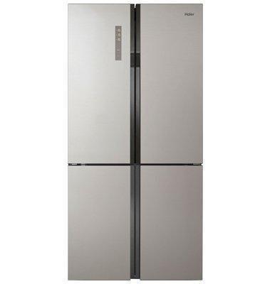 מקרר 4 דלתות בנפח 657 ליטר No Frost גימור נירוסטה תוצרת .Haier דגם HRF725FSS