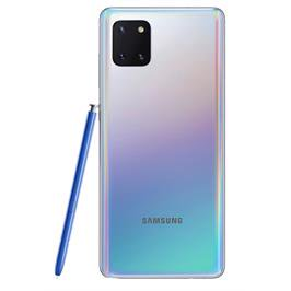 "סמארטפון ""6.7 8GB מצלמה 12+12+12+32MP מבית Samsung דגם Galaxy Note 10 lite כסף"
