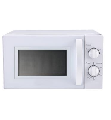 מיקרוגל מכני לבן 20 ליטר 700 וואט תוצרת SAUTER דגם MW385W