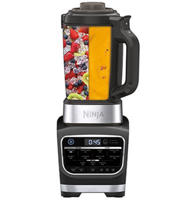 הבלנדר נינגה חכם שעכשיו גם יודע לבשל ! COLD&HOT BLENDER תוצרת NINJA דגם HB153