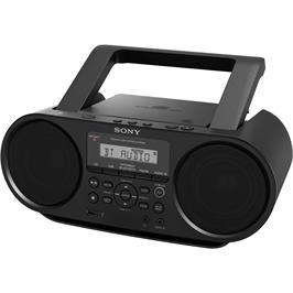 רדיו דיסק נייד תומך MP3 וקישוריות BT תוצרת SONY דגם ZS-RS60BT