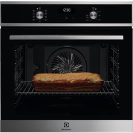 תנור אפיה 9 תוכניות רב תכליתי בגימור נירוסטה Borderless Design תוצרת Electrolux דגם EOH6426X