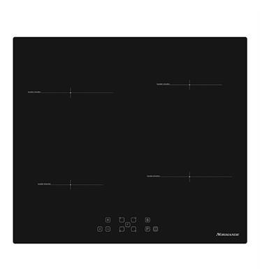 """כיריים אינדוקציה 60 ס""""מ זכוכית קרמית Normande דגם ND6100"""