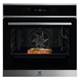 תנור אפיה פירוליטי רב תכליתי בגימור נירוסטה Borderless Design תוצרת Electrolux דגם EOP6727X