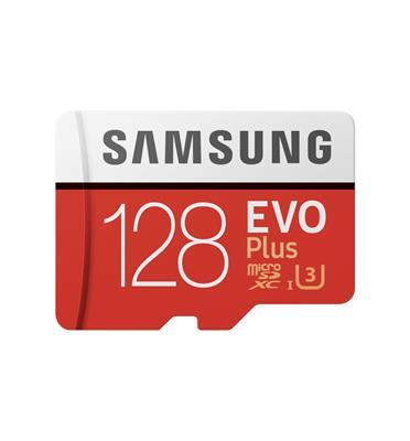כרטיס זיכרון SAMSUNG 128GB EVO Plus