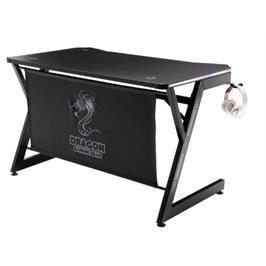 שולחן גיימינג מקצועי בעל תאורת RGB LED מבית DRAGON דגם T7 RGB Gaming Table