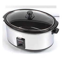 סיר בישול איטי 8 ליטר בגימור נירסטה מבית Morphy Richards דגם 48735