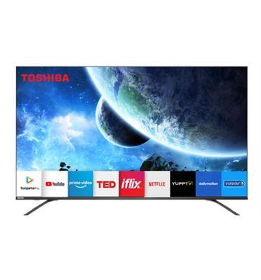 """טלויזיה """"65 Ultra HD 4K androidtv 8.0 תוצרת TOSHIBA דגם 65U7950"""