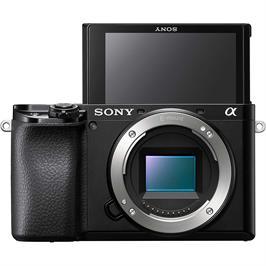 מצלמת דיגיטלית ללא מראה 24.2MP גוף בלבד מסדרת אלפה 4K מבית SONY דגם ILC-E6100B