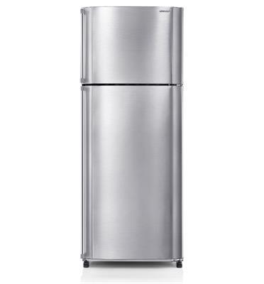 מקרר 2 דלתות בנפח 473 ליטר טכנולוגיית קירור היברידית צבע כסוף תוצרת SHARP דגם SJ2269