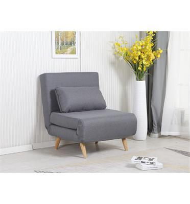 כורסא בריפוד בד נפתחת למיטה HOME DECOR דגם ניקי 80