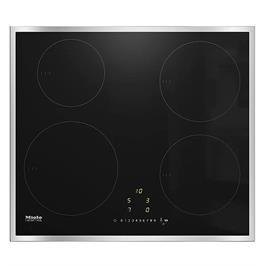 כיריים אינדוקציה 4 אזורי בישול עגולים עם המאיץ הכפול TwinBooster תוצרת Miele דגם  KM7201FR