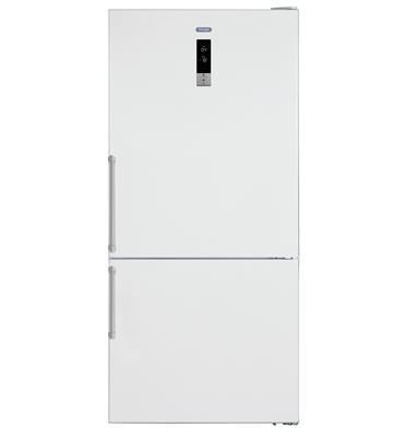 מקרר 2 דלתות NO FROST מקפיא תחתון 582 ליטר תוצרת DELONGHI דגם DLR753W לבן
