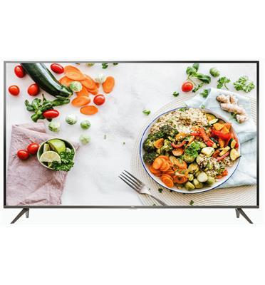 """מסך טלויזיה """"65 Smart TV UHD 4K אנדרואיד 8.0 תוצרת TCL דגם 65P8"""