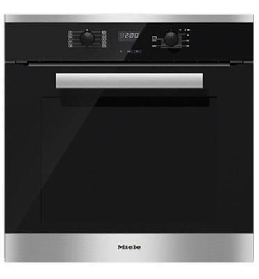 """תנור אפייה בנוי 60 ס""""מ עם חזית קרירה 76 ליטר תוצרת Miele דגם H2269-1B תוצרת גרמניה!"""