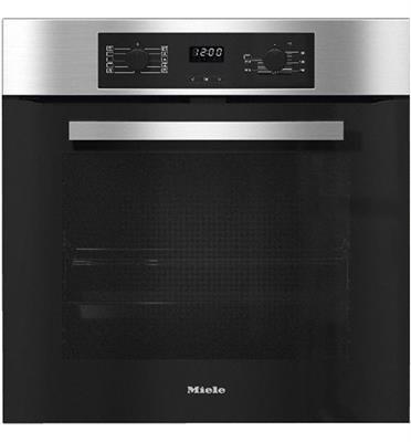 """תנור אפייה בנוי 60 ס""""מ 76 ליטר תוצרת Miele דגם H2267-1B CLST תוצרת גרמניה!"""