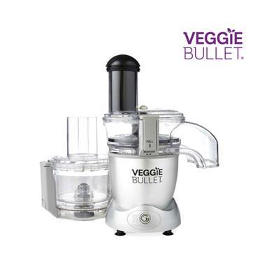 מעבד מזון מהפכני בשילוב פטנט Cyclonic Spiralizer דגם VEGGIE BULLET