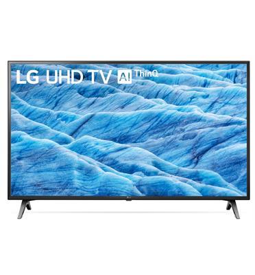 טלוויזיה חכמה 55 אינץ' LED Smart TV עם פאנל IPS 4K Ultra HD ובינה מלאכותית LG דגם 55UM7100