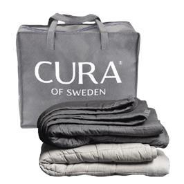 שמיכת המשקולת המחבקת של CURA מתאימה לכולם, גם לאנשים עם בעיות שינה רפואיות.