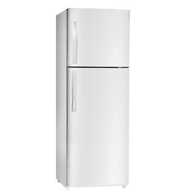 מקרר 2 דלתות מקפיא עליון 347 ליטר No Frost גימור לבן תוצרת HAIER דגם HRF380W