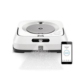 הרובוט השוטף עם קישוריות ®Wi-Fi תוצרת IROBOT דגם Braava jet® M6