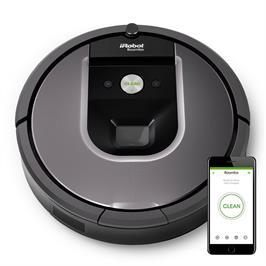 שואב אבק רובוטי מסדרה 900, רובוט המתקשר איתך דרך המכשיר הנייד, תוצרת iRobot דגם 971