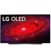 טלוויזיה 65 אינץ' בטכנולוגיית OLED, ברזולוציית 4K Ultra HD עם ניגודיות אינסופית, HDR ובינה מלאכותית LG דגם OLED 65CX