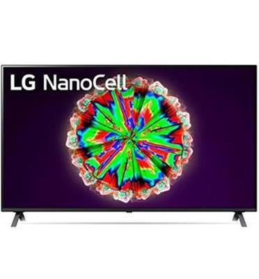 טלוויזיית 55 אינץ' LED חכמה Smart TV ברזולוציית 4K Ultra HD ופאנל IPS בטכנולוגיית NanoCell לתמונה עוצרת נשימה LG דגם 55NANO80
