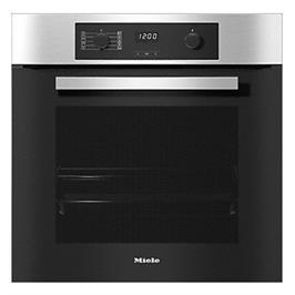 """תנור אפיה בנוי פירוליטי 60 ס""""מ בנפח של 76 ליטר תוצרת Miele דגם H2265-1BP הדגם החדש!"""