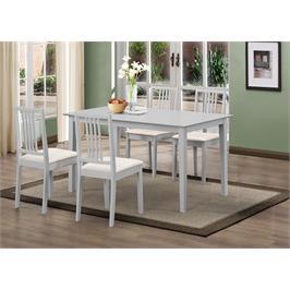 פינת אוכל מעץ כולל 4 כיסאות תוצרת GAROX דגם KELLY