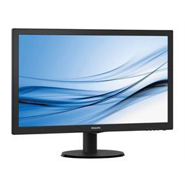 """מסך מחשב 23.6"""" LED MVA תוצרת PHILIPS דגם 243V5QHAB"""