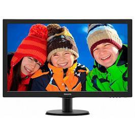 """מסך מחשב 23.6"""" LED MVA תוצרת PHILIPS דגם 243V5QHSBA"""