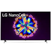 טלוויזיית 65 אינץ' LED חכמה Smart TV ברזולוציית 4K Ultra HD ופאנל IPS בטכנולוגיית NanoCell עם תאורת LED מלאה, LG דגם 65NANO90