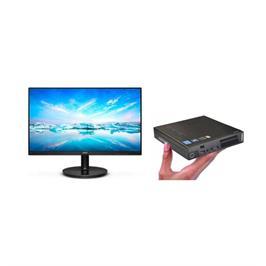 מחשב נייח tiny מעבד i3, זיכרון 8GB, אחסון 128GB מ.הפעלה WIN10 מבית LENOVO דגם m72e מוחדש