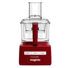 מעבד מזון מקצועי מתוצרת MAGIMIX דגם CS-4200RB אדום + משקל מטבח של MAGIMIX מתנה!