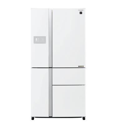 מקרר 5 דלתות בנפח 661 ליטר בגימור לבן תוצרת SHARP דגם SJ-R9630WH